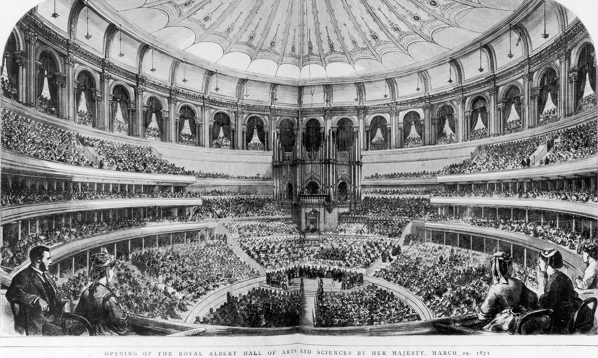 Royal Albert Hall 1971