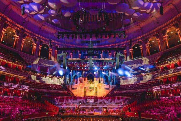 d&b audilotechnik в Albert Hall
