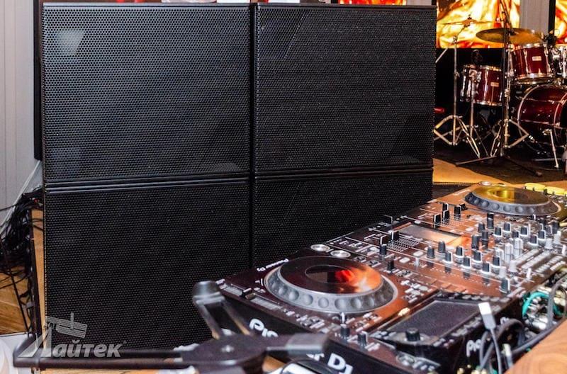 d&b audiotechnik в ночном клубе Alaska