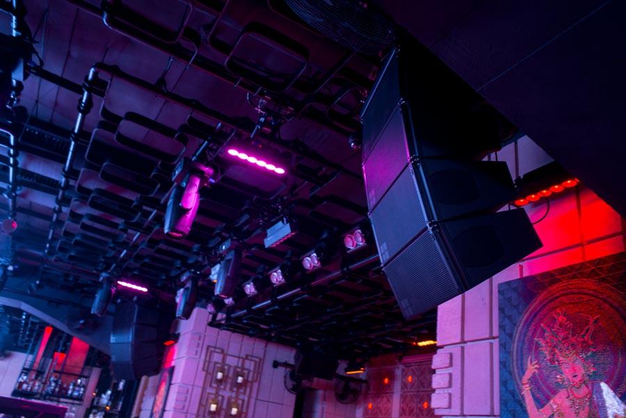 d&b audiotechnik в ночном клубе CHI