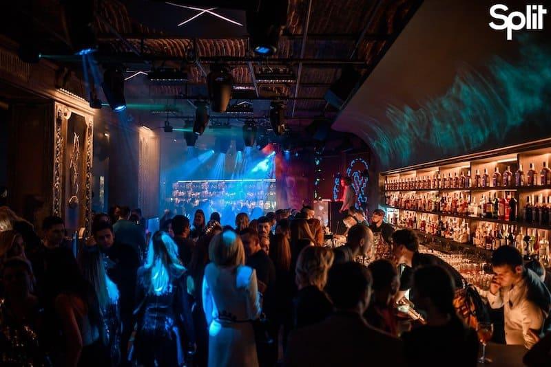 d&b audiotechnik в ночном клубе Split