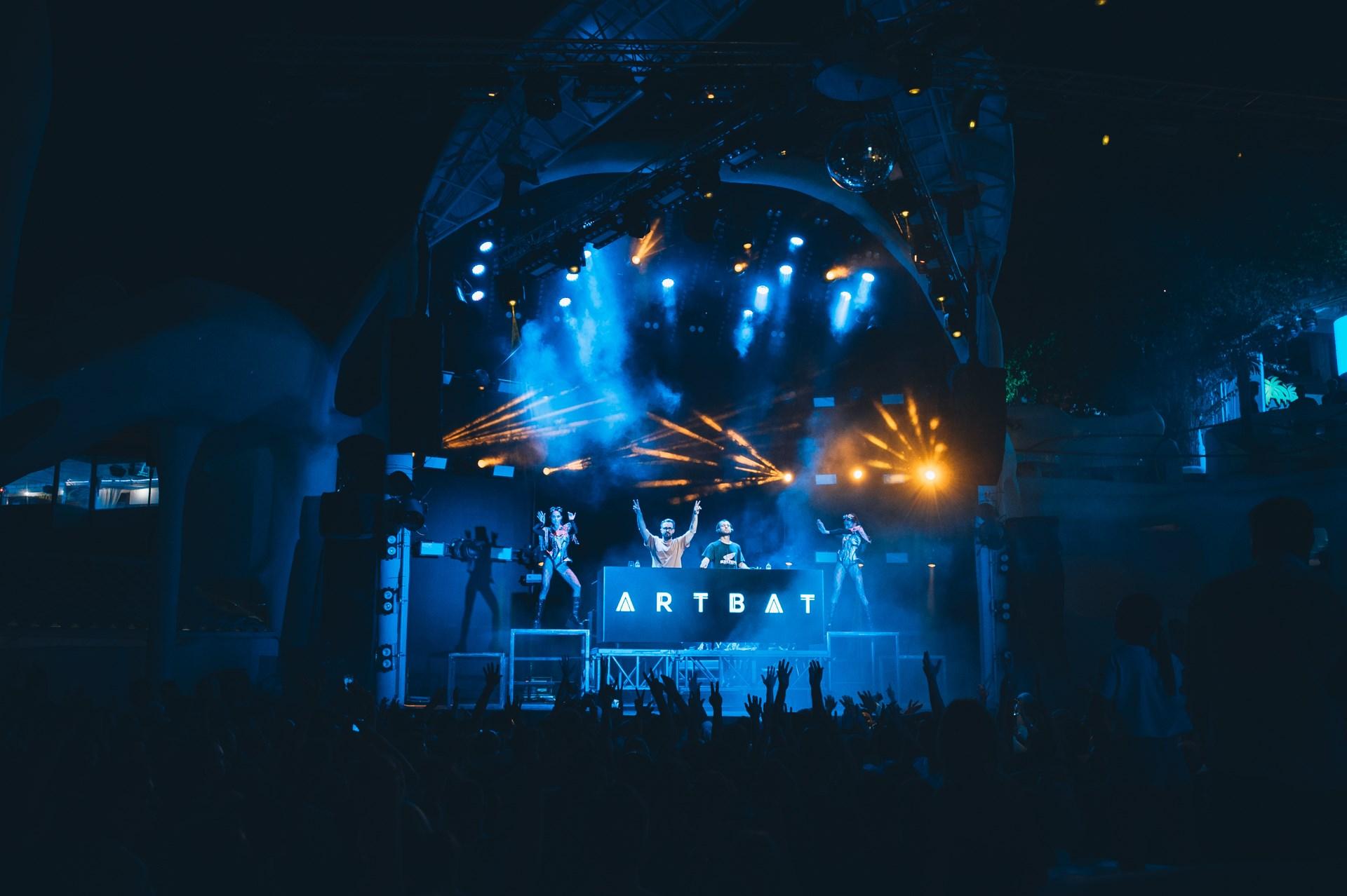 d&b в клубе Ibiza
