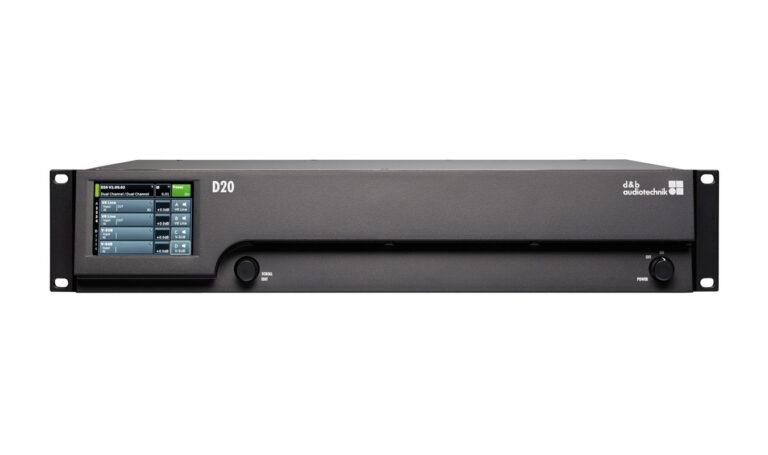 d&b audiotechnik D20