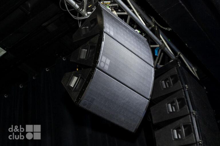 Презентация d&b A-Series, вертикальный подвес